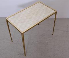 Vereinigte Werksta tten Brass and Mother of Pearl Side Table by Vereinigte Werkst tten M nchen - 1114091