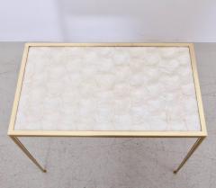 Vereinigte Werksta tten Brass and Mother of Pearl Side Table by Vereinigte Werkst tten M nchen - 1114092
