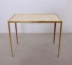 Vereinigte Werksta tten Brass and Mother of Pearl Side Table by Vereinigte Werkst tten M nchen - 1114093