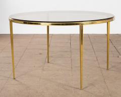 Vereinigte Werksta tten Golden Circular Brass Coffee Table by Vereinigte Werkst tten 1960ies - 822378