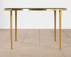 Vereinigte Werksta tten Golden Circular Brass Coffee Table by Vereinigte Werkst tten 1960ies - 822379