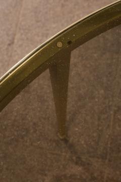 Vereinigte Werksta tten Golden Circular Brass Coffee Table by Vereinigte Werkst tten 1960ies - 822380
