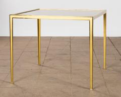 Vereinigte Werksta tten Golden Square Brass Coffee Table by Vereinigte Werkst tten 1960ies - 822394