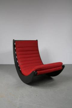 Verner Panton 1974s Rocking Chair by Verner Panton for Rosenthal Germany - 821424