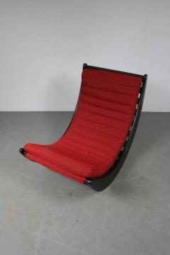 Verner Panton 1974s Rocking Chair by Verner Panton for Rosenthal Germany - 821425