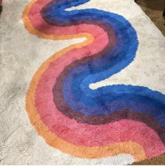 Verner Panton RYA wool rug - 1936145