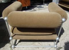 Verner Panton Rare set of one canap and two armchairs by Verner Panton S 420 serie - 918382
