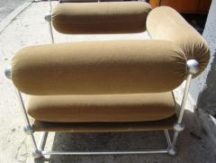 Verner Panton Rare set of one canap and two armchairs by Verner Panton S 420 serie - 918383