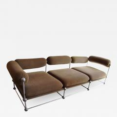 Verner Panton Rare set of one canap and two armchairs by Verner Panton S 420 serie - 920965