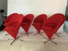 Verner Panton Verner Panton Cone Chairs - 912134