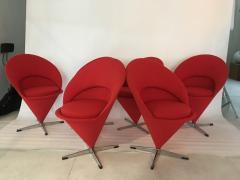 Verner Panton Verner Panton Cone Chairs - 912136