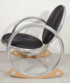 Verner Panton Verner Panton Dondolo for Ycami Rocking Chair - 704295