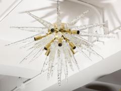 Veronese 1970s Stalactite Murano Glass Chandelier - 1196346