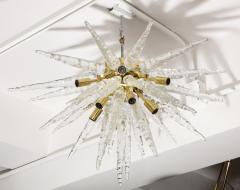 Veronese 1970s Stalactite Murano Glass Chandelier - 1196348