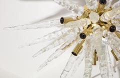 Veronese 1970s Stalactite Murano Glass Chandelier - 1196349