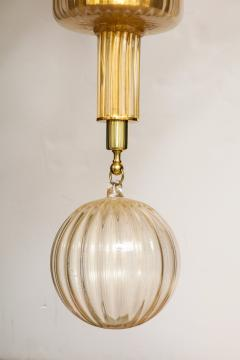 Veronese One of a kind Murano glass chandelier attributed to Veronese - 878632