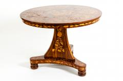 Very Fine 19th Century Dutch Marquetry Table - 1125498