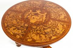 Very Fine 19th Century Dutch Marquetry Table - 1125499