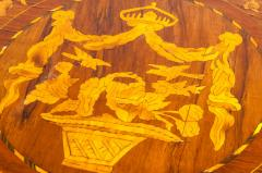 Very Fine 19th Century Dutch Marquetry Table - 1125508