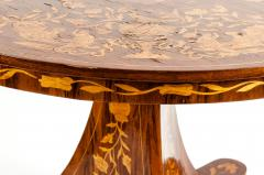 Very Fine 19th Century Dutch Marquetry Table - 1125509