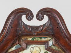 Very Fine And Rare Courting Mirror - 498127