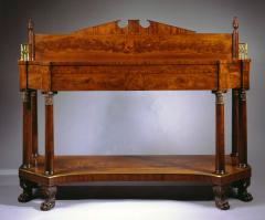 Very Fine Carved Mahogany Federal Sideboard - 308843