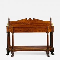 Very Fine Carved Mahogany Federal Sideboard - 310321
