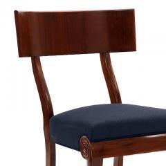 Very Fine Danish Art Nouveau Klismos Chairs in Mahogany - 1649303