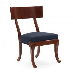 Very Fine Danish Art Nouveau Klismos Chairs in Mahogany - 1649304
