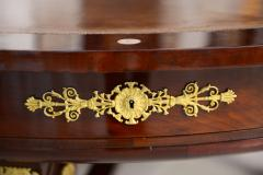 Very Fine French Empire Mahogany and Ormolu Mounted Rent Table Potheau - 391130