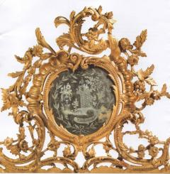 Very Fine Italian 18th Century Carved and Giltwood Mirror - 632687