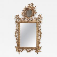 Very Fine Italian 18th Century Carved and Giltwood Mirror - 633521