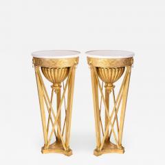 Very Fine Pair of Italian Neoclassical Gueridons - 634616