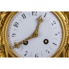 Very Fine Quality French Ormolu and White Marble Winged Cherub Clock - 2034494
