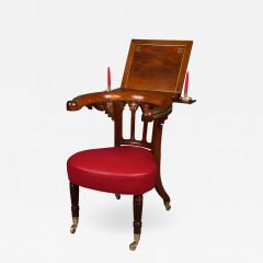 Very Fine Regency Library Reading Chair - 1027012