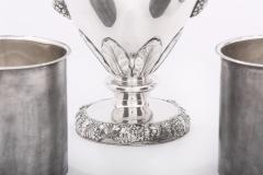 Very Fine Victorian Silver Plate Wine Cooler - 1964987