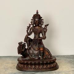 Very Large Casting of a Bodhisattva China circa 1980 - 1400840
