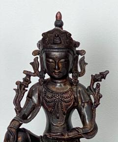 Very Large Casting of a Bodhisattva China circa 1980 - 1400842