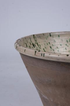 Very Large Colorful Glazed Earthenware Passata Bowl - 1782941