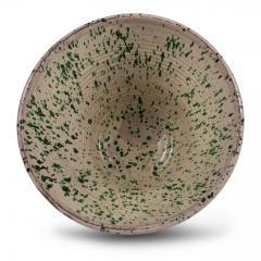 Very Large Colorful Glazed Earthenware Passata Bowl - 1782947