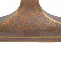 Very Large Copper Fireplace Vent Hood from Round House Dallas 1960s - 1826803