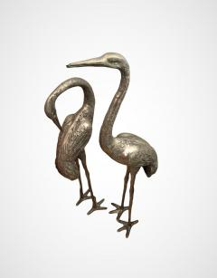 Very Large Herons in Solid Brass - 1780431