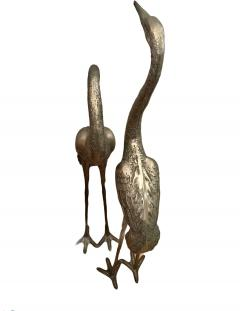 Very Large Herons in Solid Brass - 1780432