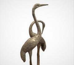 Very Large Herons in Solid Brass - 1780434