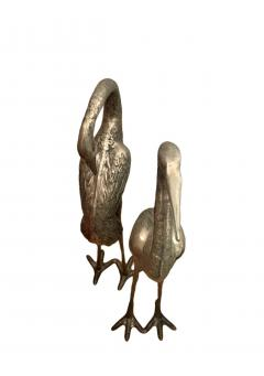 Very Large Herons in Solid Brass - 1780436