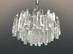 Very Rare Large Tiered Glass Chandelier by J T Kalmar - 734320