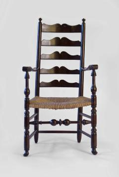 Very Rare Maple Ladderback Armchair - 90840