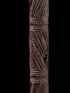 Very elegant Tokotoko carved Maori Walking or Orators stick - 2025184