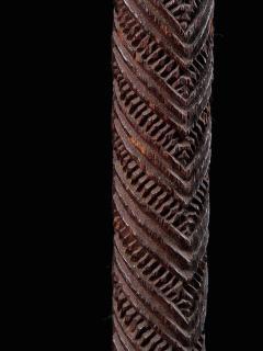 Very elegant Tokotoko carved Maori Walking or Orators stick - 2025188