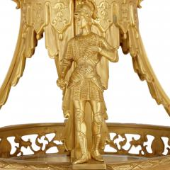 Very large Louis XV style gilt bronze lantern - 2003853